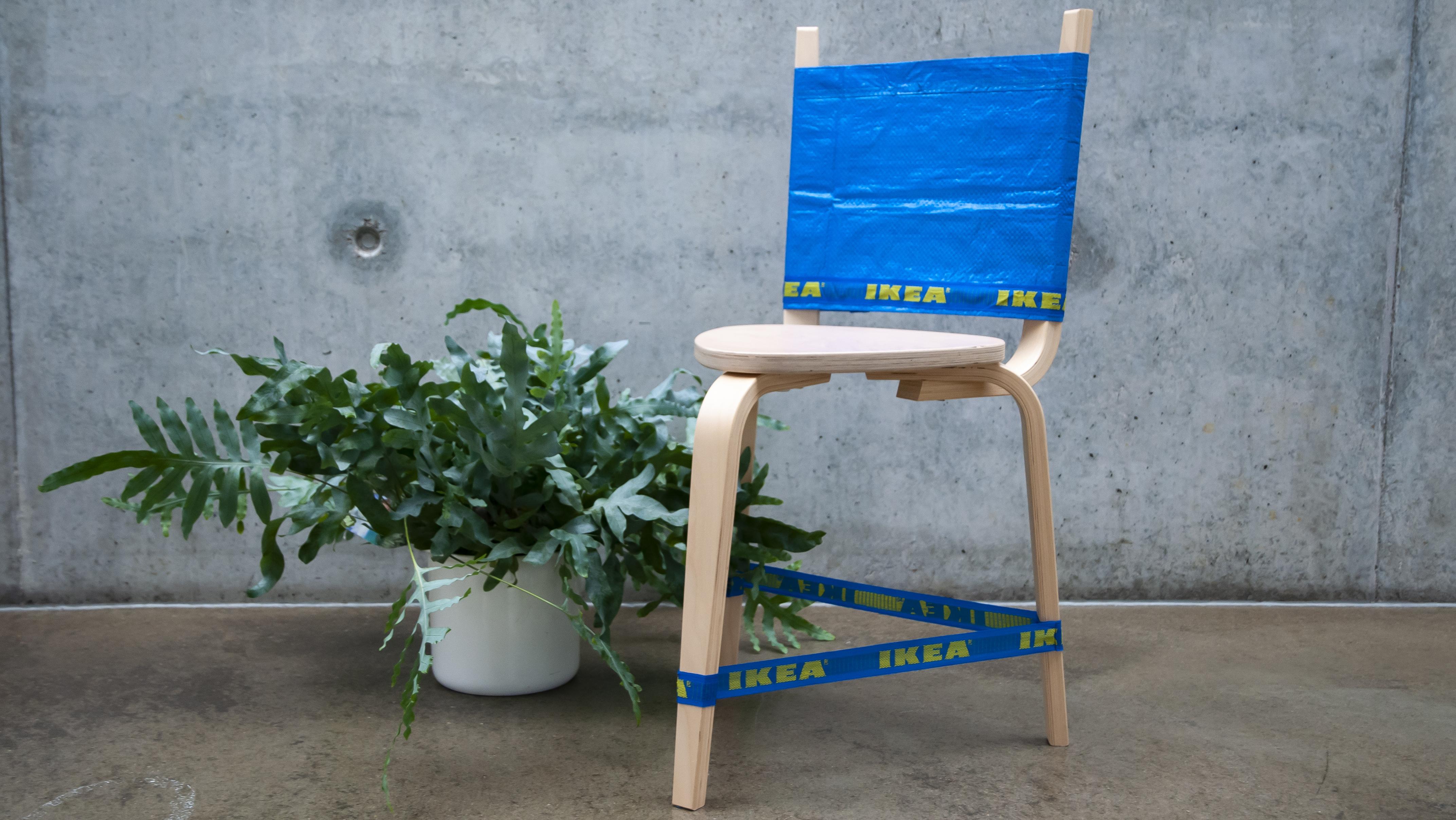 SITTKÖTT- ein Stuhl mit FRAKTA-Lehne (Hacking IKEA)
