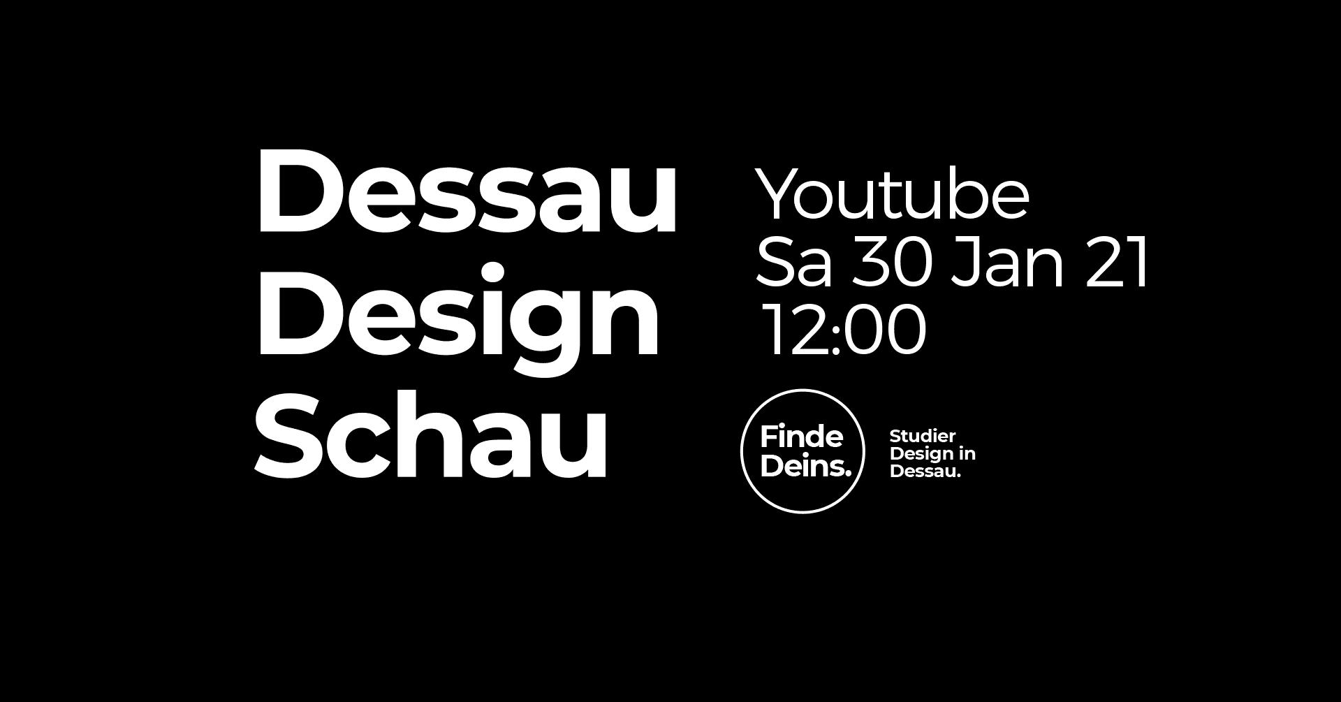 Dessau Design Schau 2021