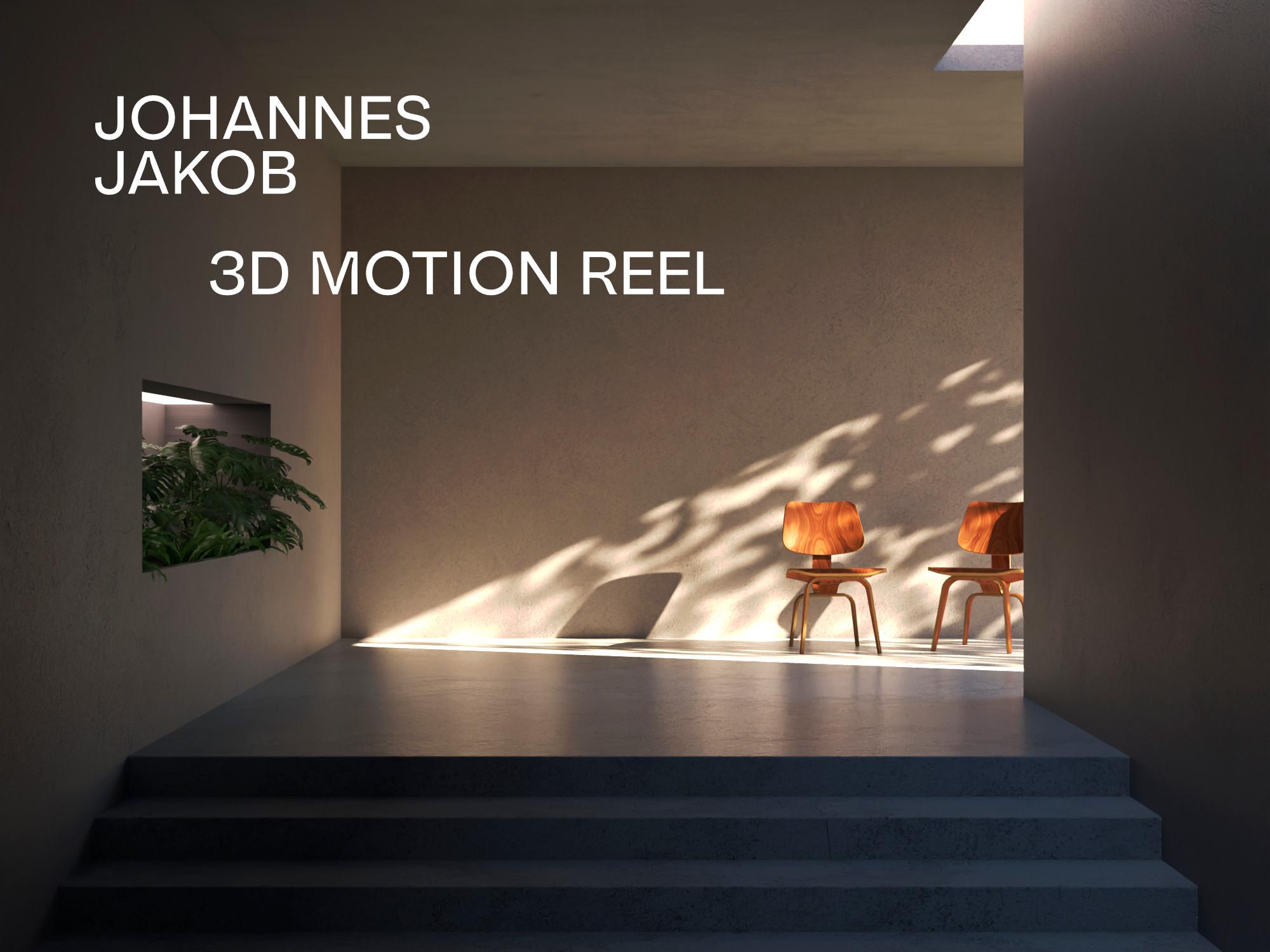 3D Motion Reel