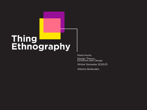 Thing Ethnography