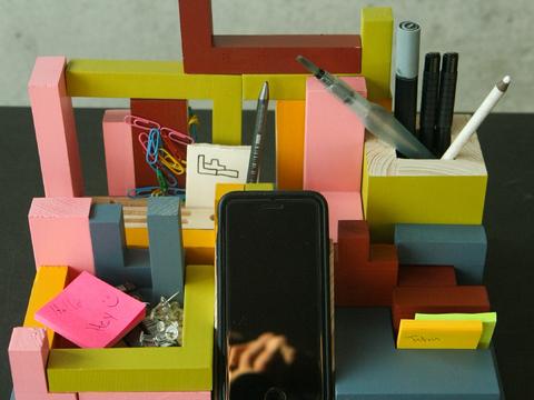 Tetris Tisch Organizer